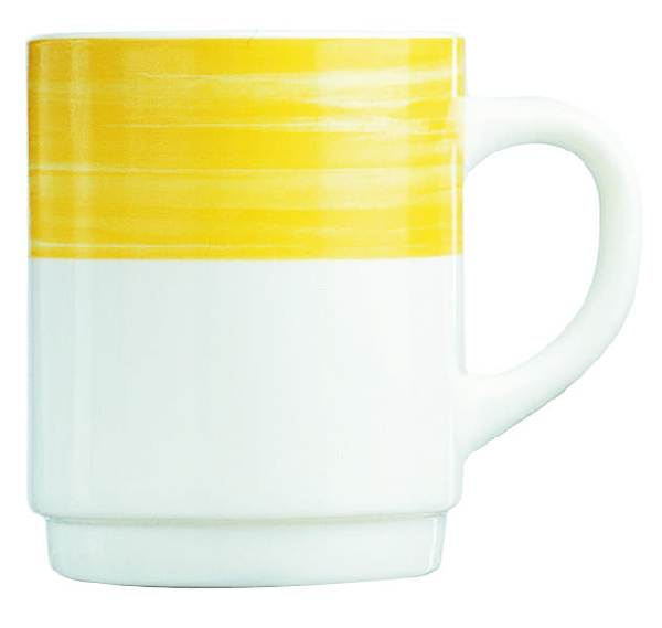 Kaffeebecher Bock, 25 cl. Brush Yellow